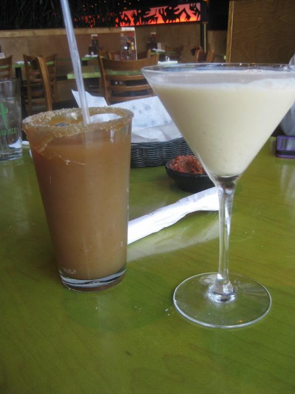 Apple Cider Margarita and Nog-a-Rita